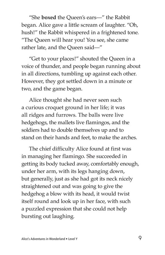 Book Preview For Alice's Adventures in Wonderland (Part 6) Page 9