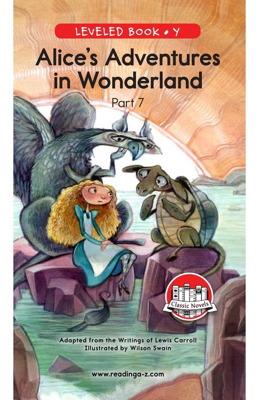 Book Preview For Alice's Adventures in Wonderland (Part 7) Page 0