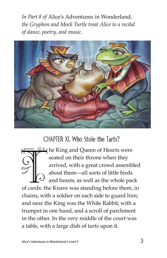 Book Preview For Alice's Adventures in Wonderland (Part 9) Page 3