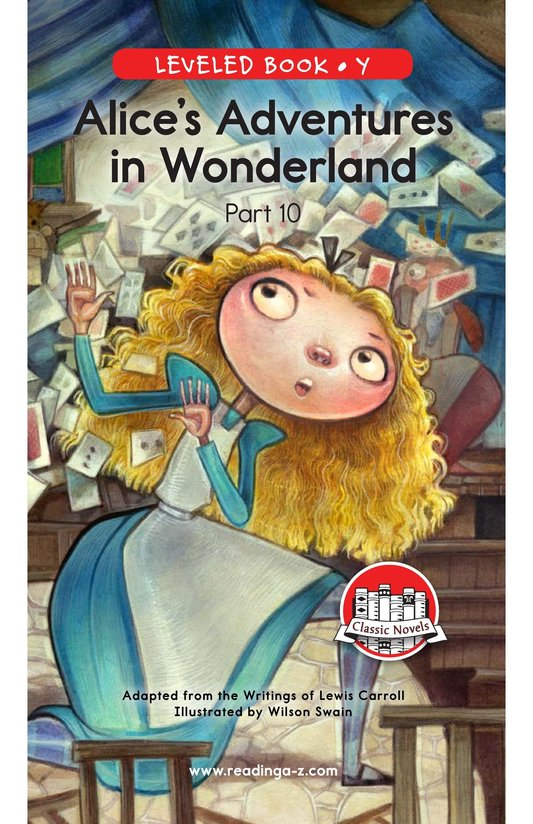 Book Preview For Alice's Adventures in Wonderland (Part 10) Page 0