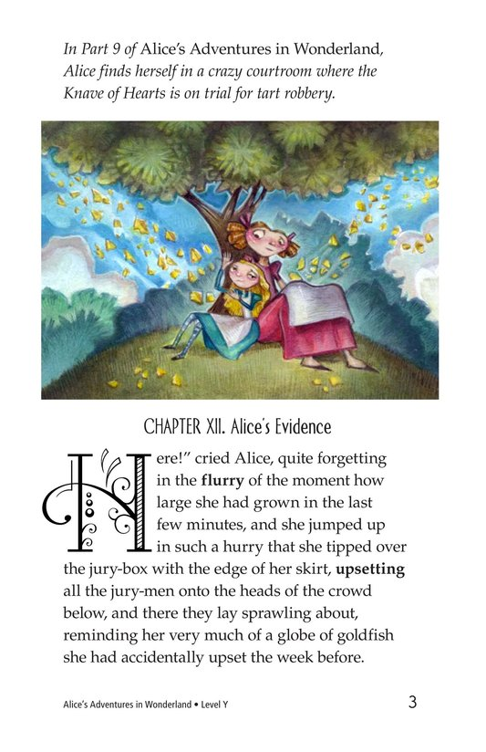 Book Preview For Alice's Adventures in Wonderland (Part 10) Page 3