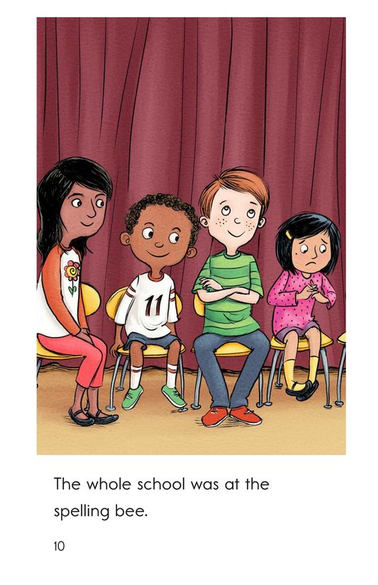 Book Preview For The Spelling Bee Page 10