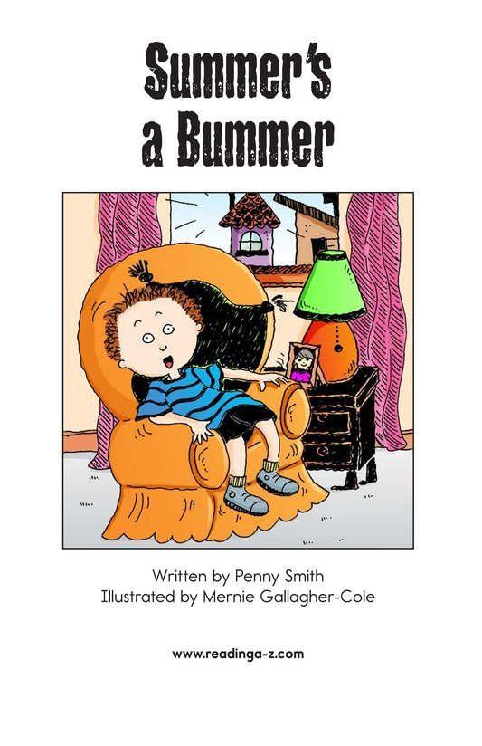 Book Preview For Summer's a Bummer Page 2