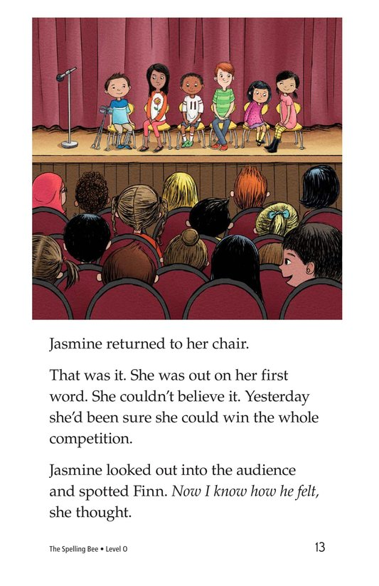 Book Preview For The Spelling Bee Page 13