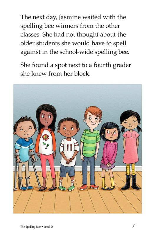 Book Preview For The Spelling Bee Page 7