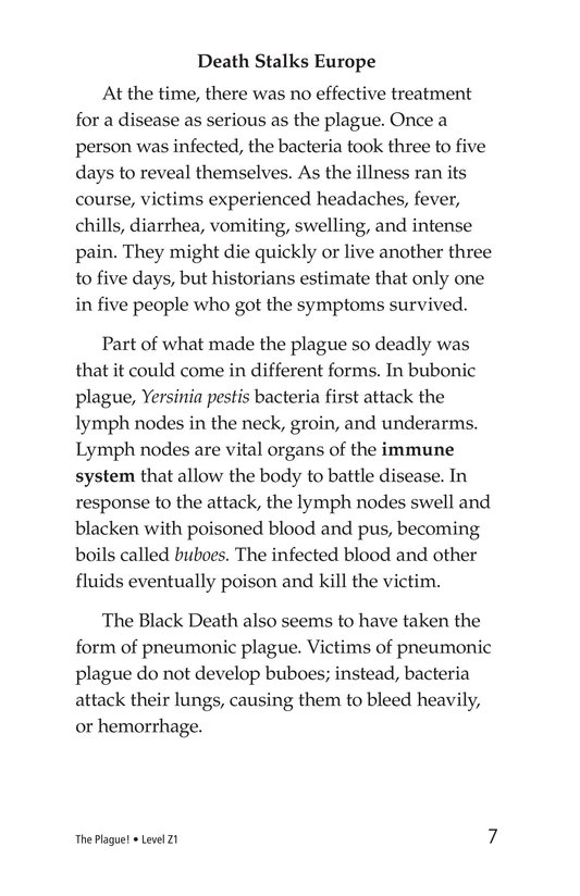 Book Preview For The Plague! Page 7