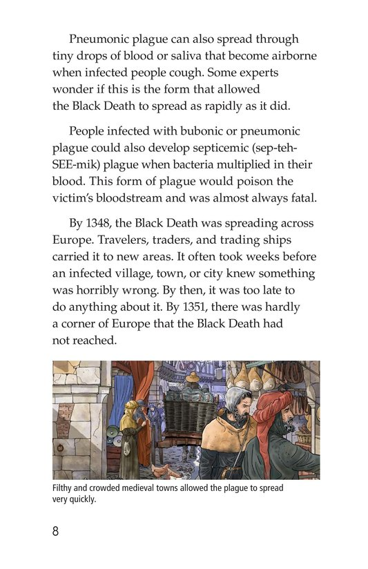 Book Preview For The Plague! Page 8