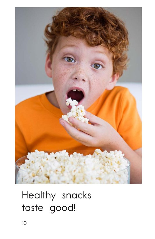 Book Preview For Healthy Snacks Page 10