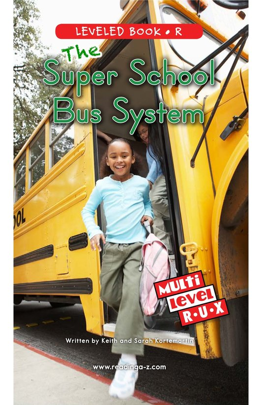 Book Preview For The Super School Bus System Page 0