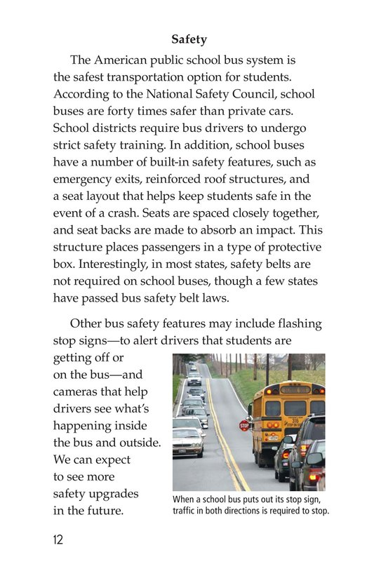 Book Preview For The Super School Bus System Page 12