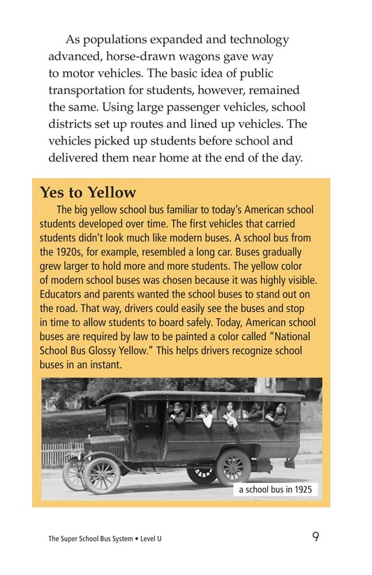 Book Preview For The Super School Bus System Page 9