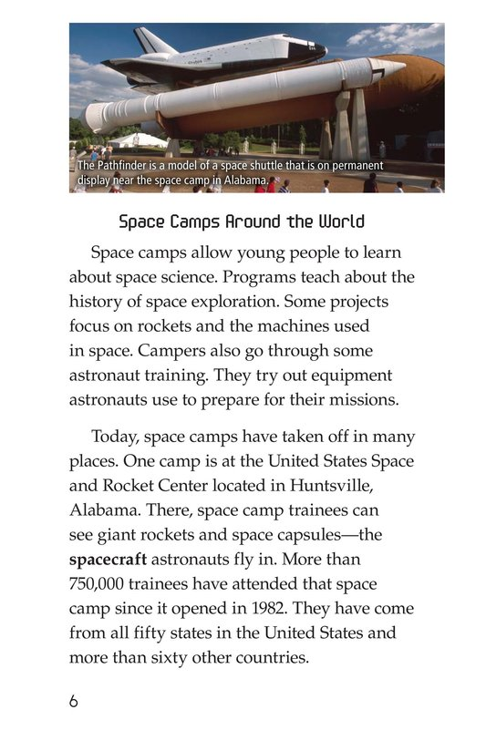 Book Preview For Space Camp Page 6