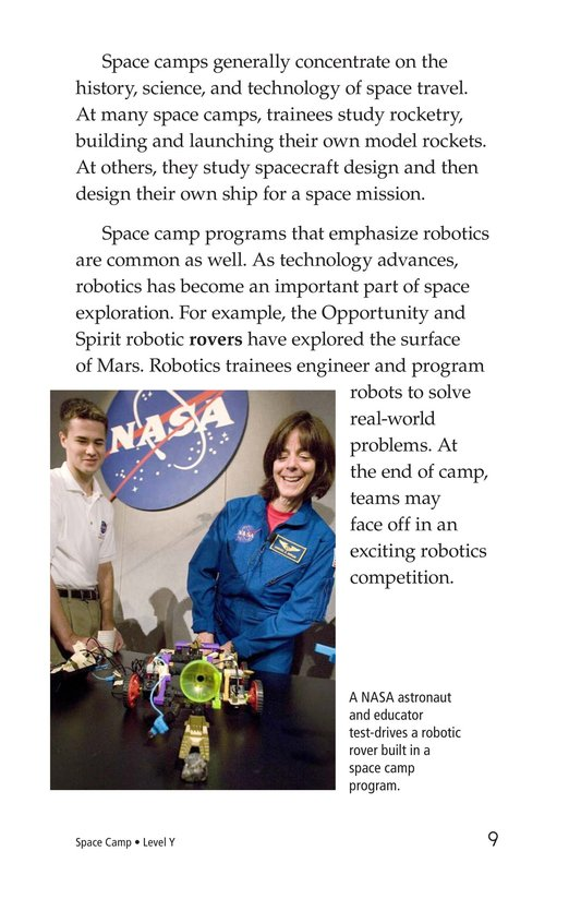 Book Preview For Space Camp Page 9