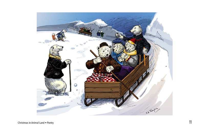 Book Preview For Christmas in Animal Land Page 11