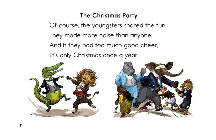 Book Preview For Christmas in Animal Land Page 12