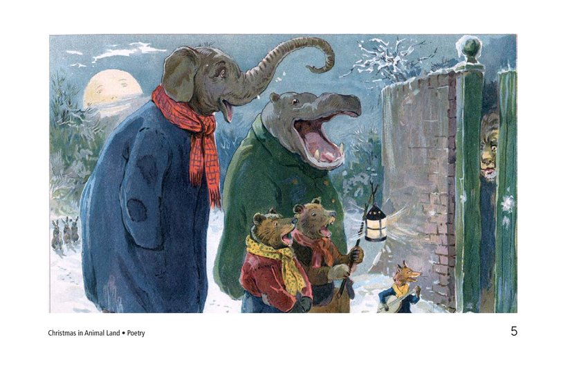 Book Preview For Christmas in Animal Land Page 5