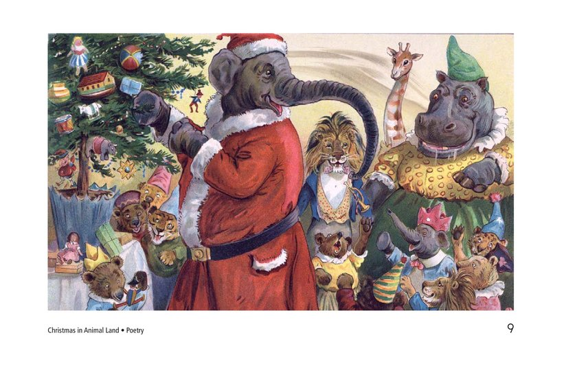 Book Preview For Christmas in Animal Land Page 9