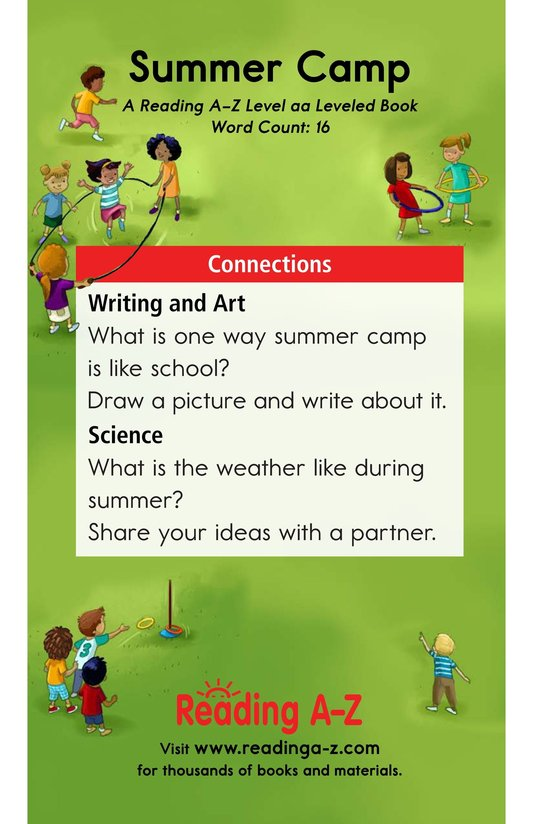 Book Preview For Summer Camp Page 11
