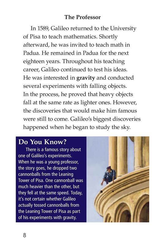 Book Preview For Galileo Page 8