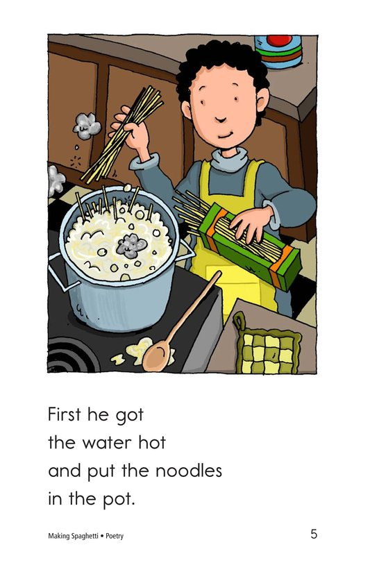 Book Preview For Making Spaghetti Page 5