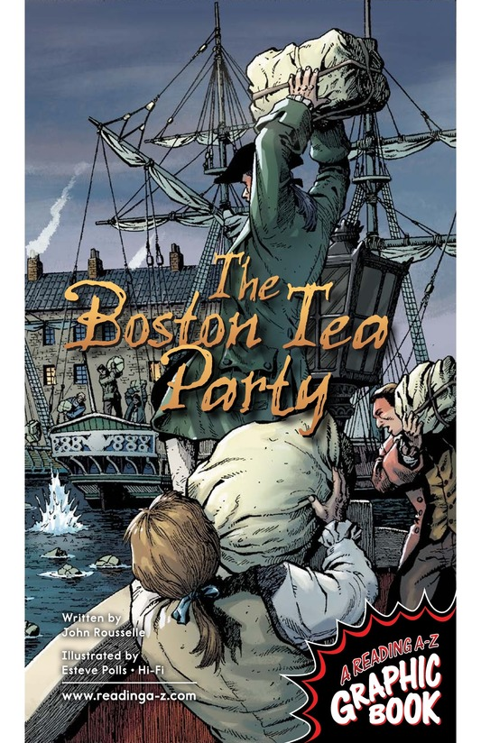 Book Preview For The Boston Tea Party Page 1