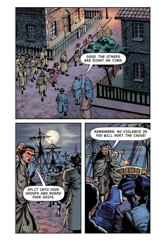 Book Preview For The Boston Tea Party Page 11