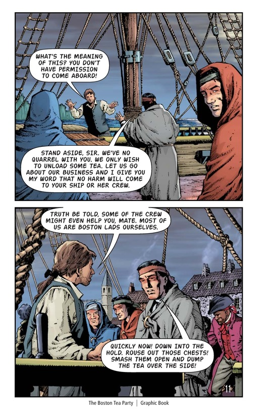 Book Preview For The Boston Tea Party Page 12