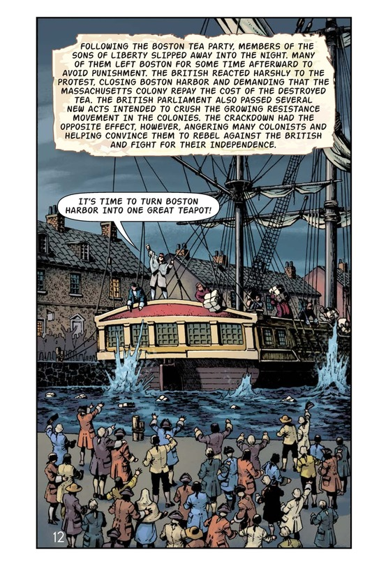 Book Preview For The Boston Tea Party Page 13
