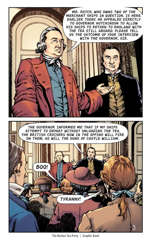 Book Preview For The Boston Tea Party Page 4