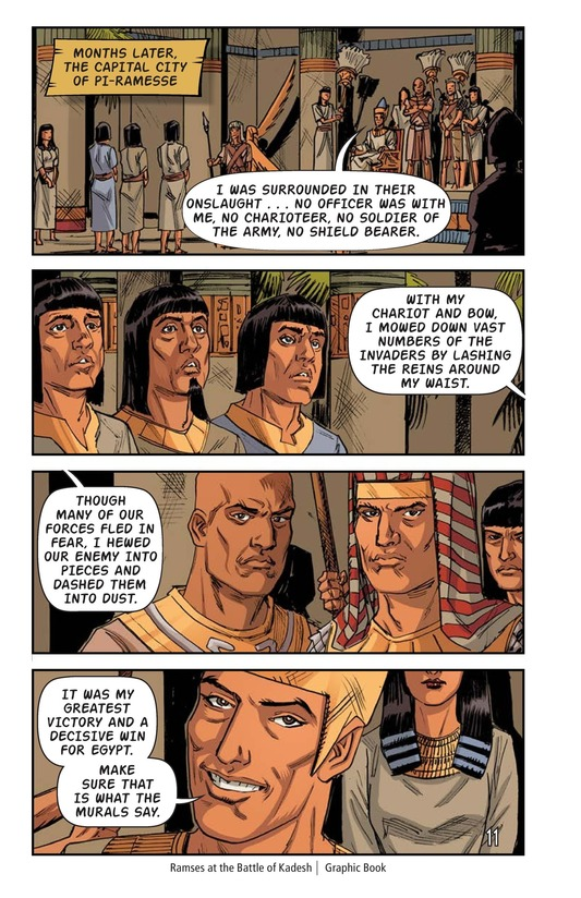 Book Preview For Ramses at the Battle of Kadesh Page 12