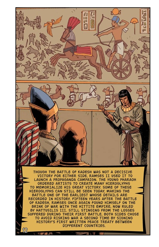 Book Preview For Ramses at the Battle of Kadesh Page 13