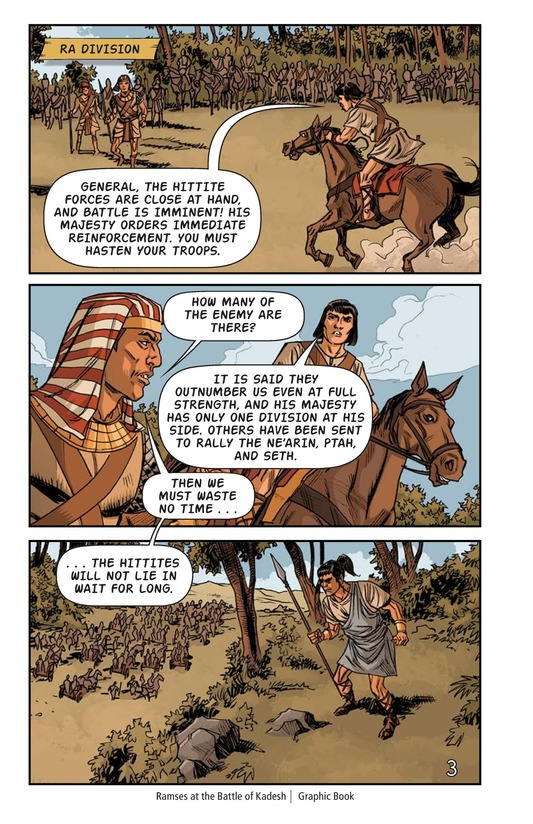 Book Preview For Ramses at the Battle of Kadesh Page 4