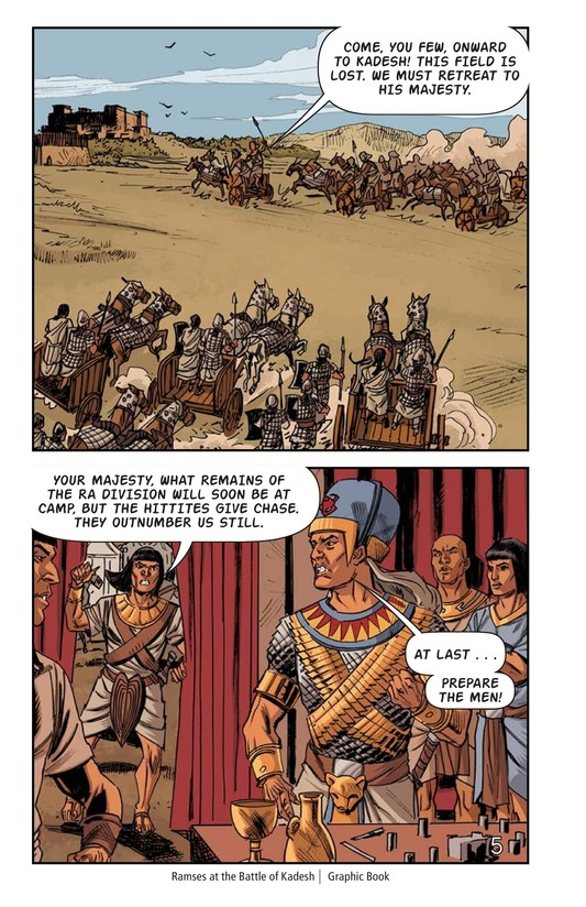 Book Preview For Ramses at the Battle of Kadesh Page 6