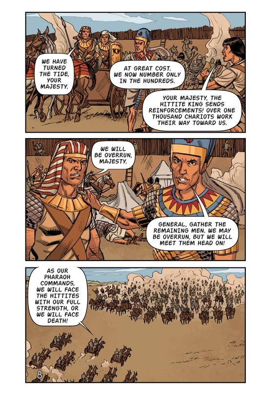 Book Preview For Ramses at the Battle of Kadesh Page 9