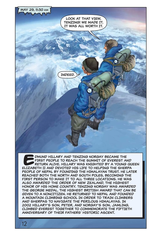 Book Preview For Hillary, Norgay, and Mount Everest Page 13