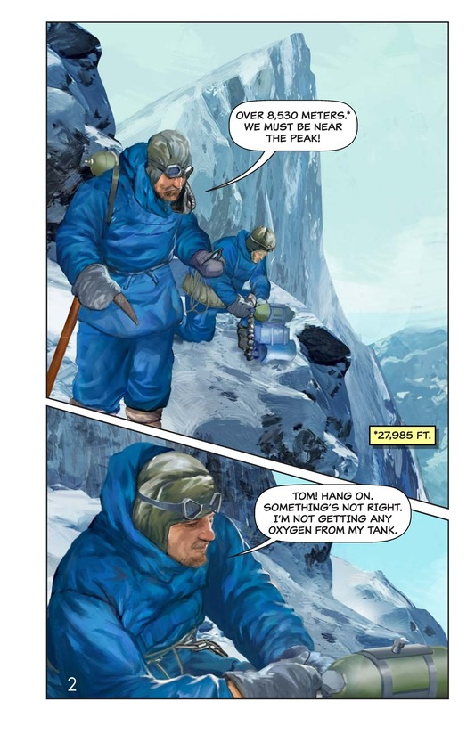 Book Preview For Hillary, Norgay, and Mount Everest Page 3