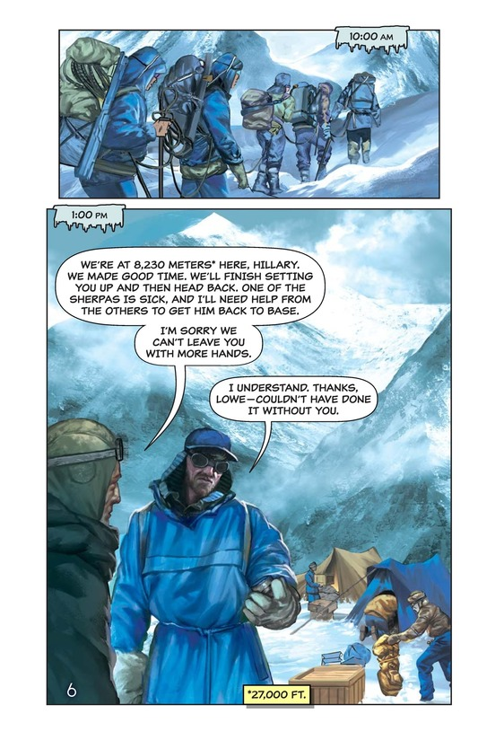 Book Preview For Hillary, Norgay, and Mount Everest Page 7
