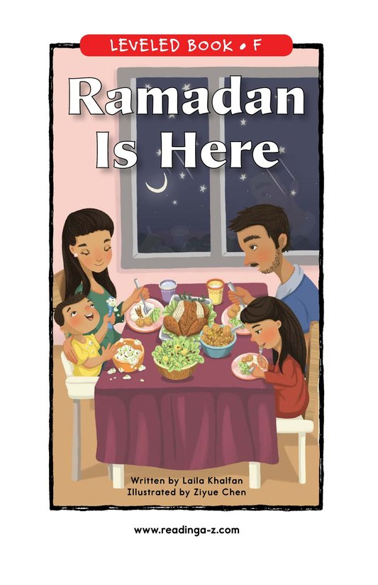Book Preview For Ramadan Is Here Page 0