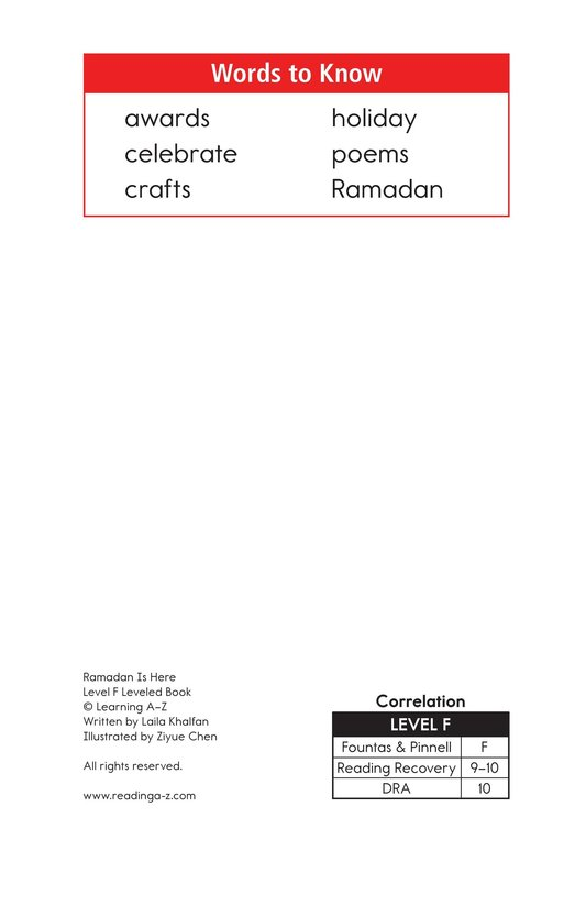 Book Preview For Ramadan Is Here Page 2