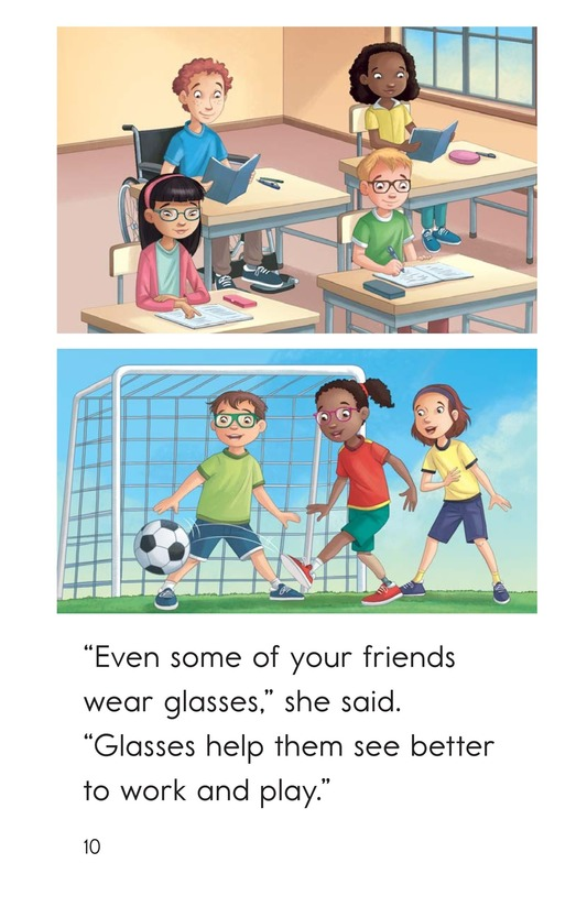 Book Preview For Josh Gets Glasses Page 10