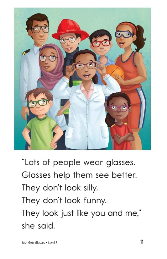 Book Preview For Josh Gets Glasses Page 11