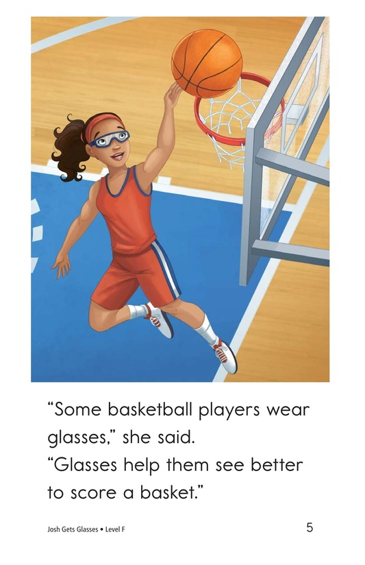 Book Preview For Josh Gets Glasses Page 5