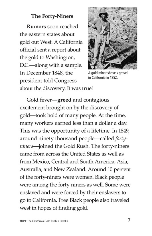 Book Preview For 1849: The California Gold Rush Page 7