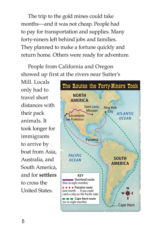 Book Preview For 1849: The California Gold Rush Page 8