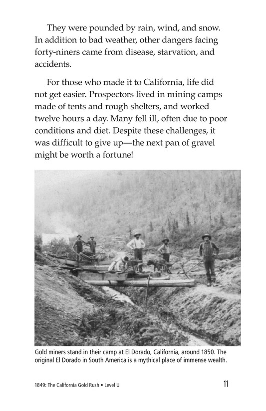 Book Preview For 1849: The California Gold Rush Page 11