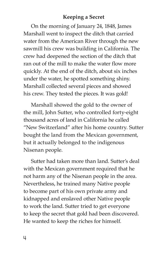 Book Preview For 1849: The California Gold Rush Page 4