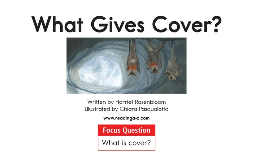 Book Preview For What Gives Cover? Page 1