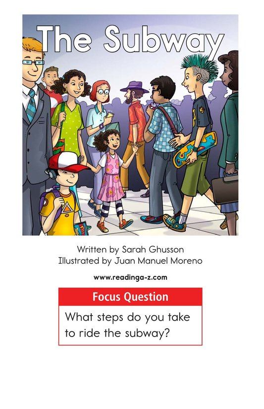 Book Preview For The Subway Page 1