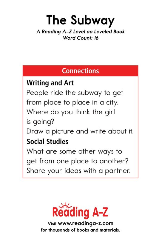 Book Preview For The Subway Page 11