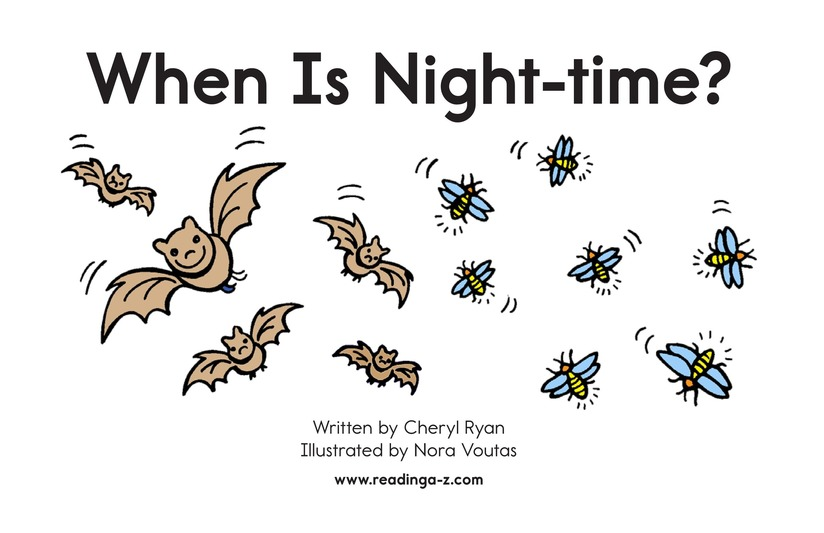 Book Preview For When Is Nighttime? Page 2